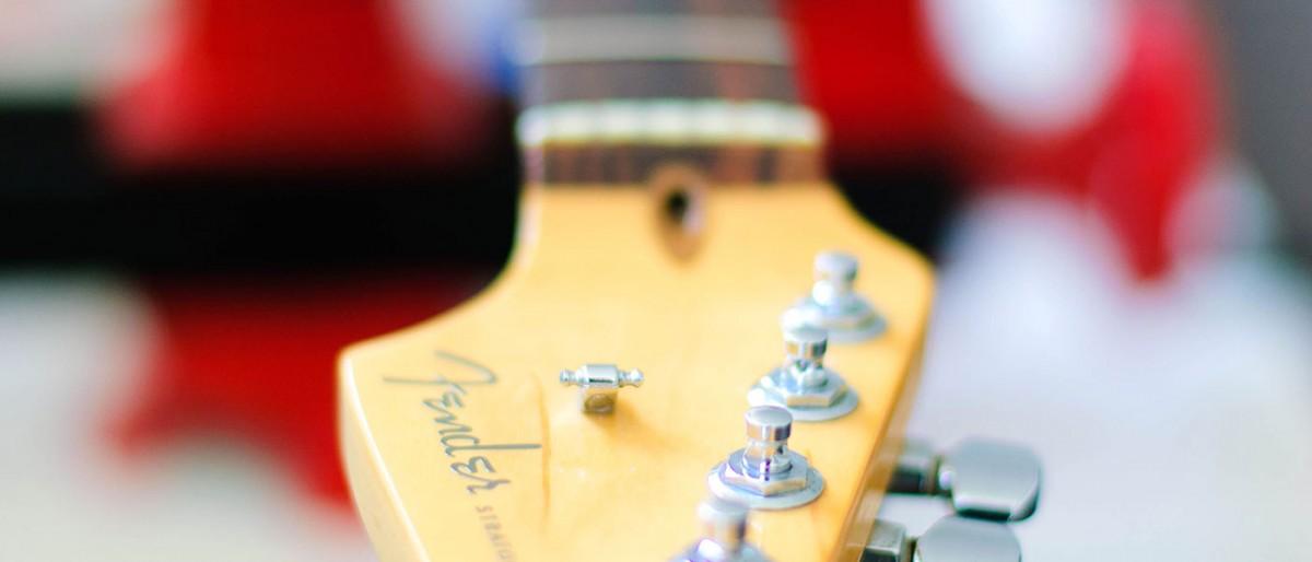 gitaar afstellen